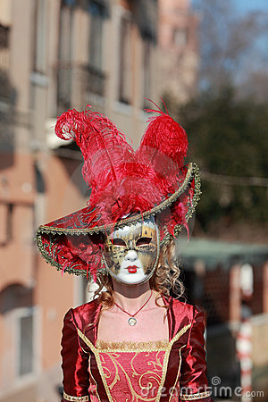 Venetian mask Editorial Photography