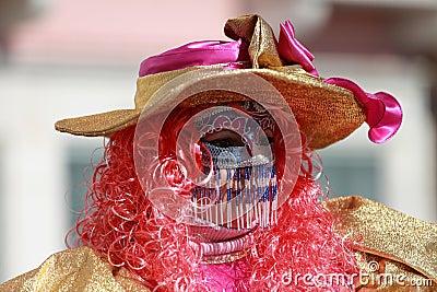 Venetian mask Editorial Stock Photo