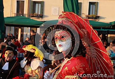 Venetian mask Editorial Image