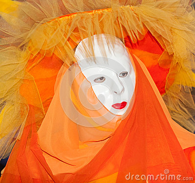 Venetian Mask Editorial Stock Photo