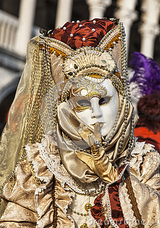 Venetian Mask Editorial Stock Image