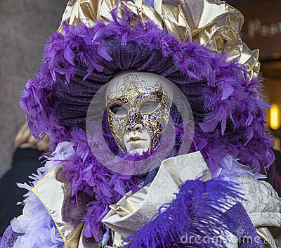 Venetian Mask Editorial Photo