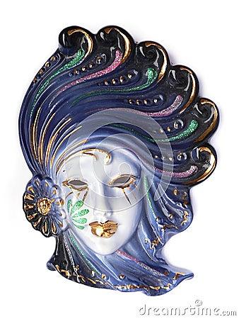 Free Venetian Mask Stock Image - 453741