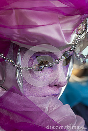 Venetian Mask- close-up Editorial Photography