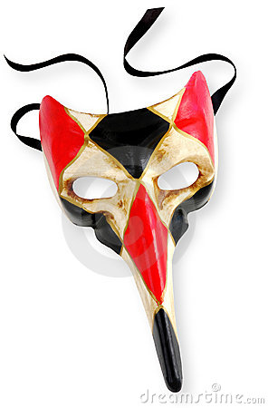 Venetian Mask (With Path)
