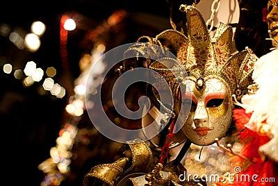 Venetian maskering
