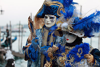 Venetian masks Editorial Photo