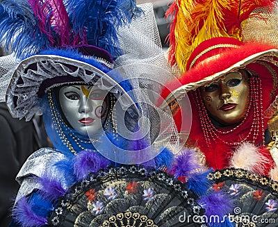 Venetian Masks Editorial Image