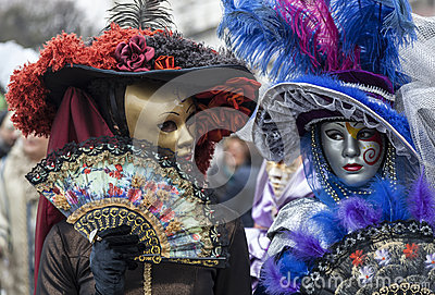 Venetian Masks Editorial Stock Image