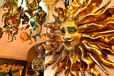 Venetian masks on sale
