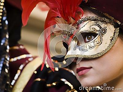 Venetian Princess Editorial Image