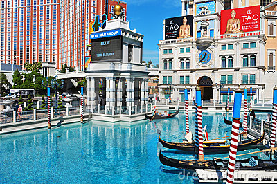 The Venetian Resort Hotel Casino in Las Vegas Editorial Photo