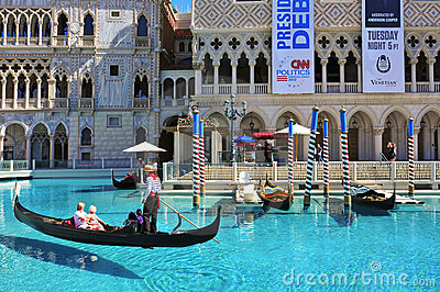 The Venetian Resort Hotel Casino in Las Vegas Editorial Photography