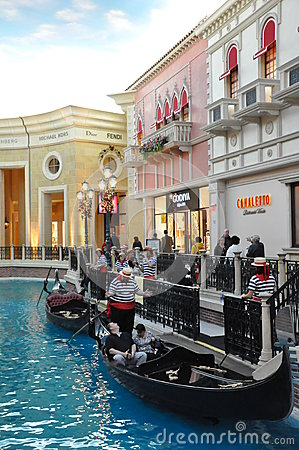 The Venetian Resort Hotel Casino in Las Vegas Editorial Image