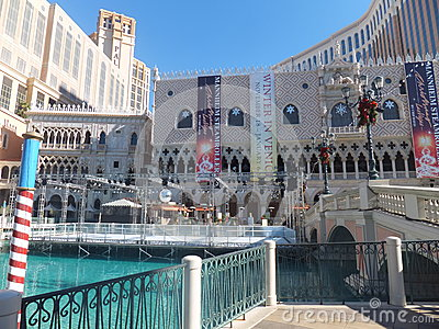 The Venetian Resort Hotel Casino in Las Vegas Editorial Stock Photo