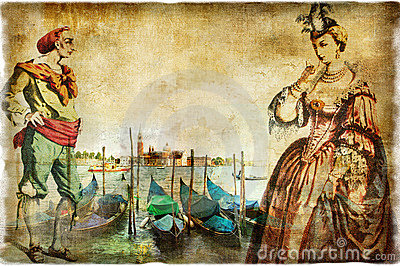 Venetian retro pictures