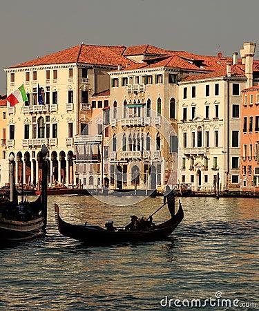 Venetian silhouettes Editorial Image