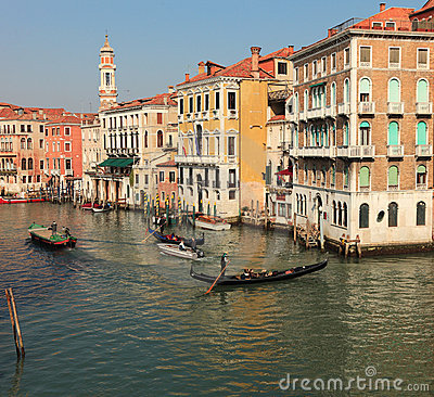 Venetian traffic Editorial Photo