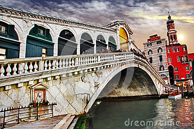 Venezia di stupore, ponte di Rialto