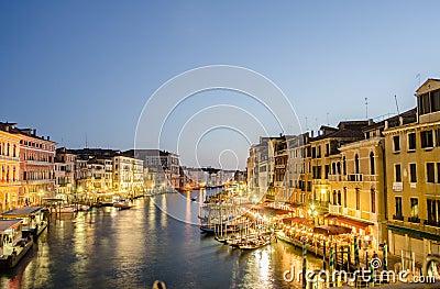VENEZIA, ITALIA Fotografia Editoriale