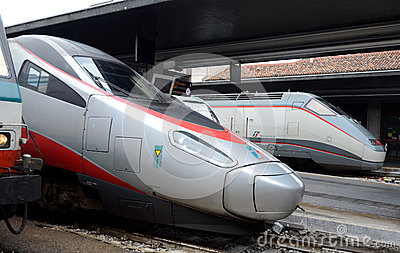 Venezia  railway station Editorial Stock Photo