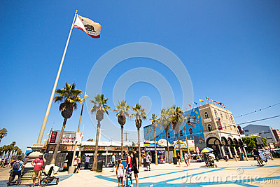 Venice Beach California Editorial Photo