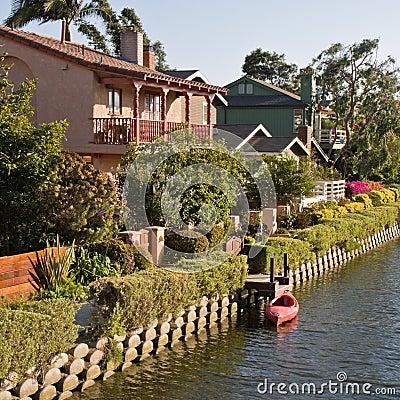 Venice Beach Canal Houses