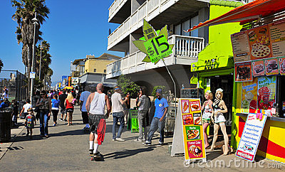 Venice Beach, United States Editorial Image