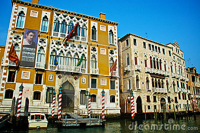 Venice Buildings Editorial Image