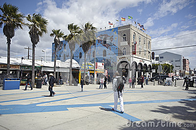 Venice in California Editorial Photo