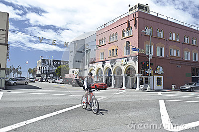 Venice in California Editorial Photo