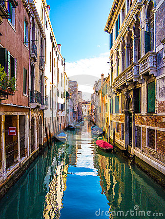 Free Venice Canal Stock Images - 38793934