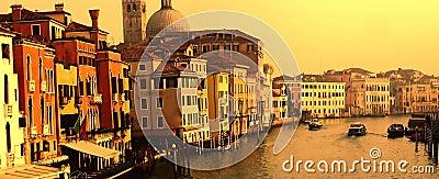 Venice Canal Grande panorama