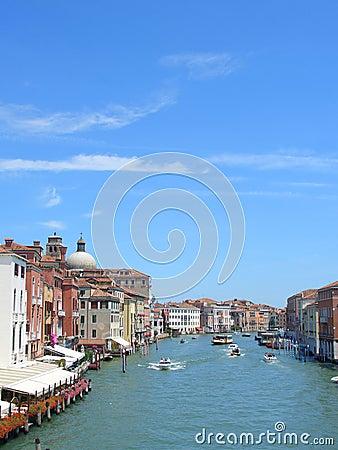 Venice, Canal Grande, vertical
