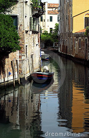 Free Venice - Canal Series Royalty Free Stock Image - 1204686