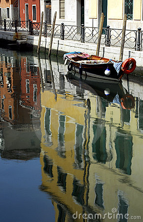 Free Venice - Canal Series Royalty Free Stock Photography - 1204757