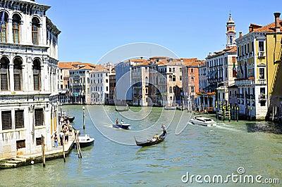 Venice  Canale Grande Editorial Image