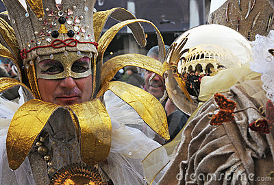 Venice Carnival Editorial Photography