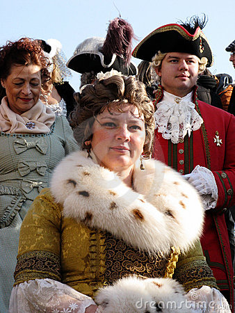 Venice carnival 2010 Editorial Stock Image