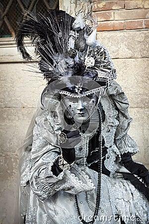Venice Carnival 2011 Editorial Photo