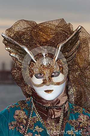 Venice Carnival 2013 Editorial Stock Photo