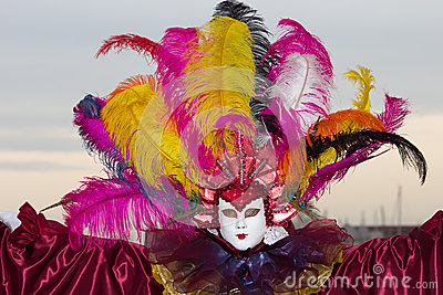 Venice Carnival 2013 Editorial Image