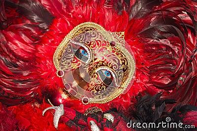 Venice Carnival 2013 Editorial Stock Photo