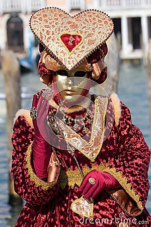 Venice Carnival 2013 Editorial Photo