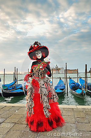 Venice carnival Editorial Stock Image