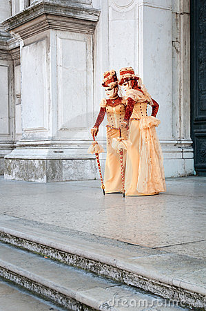 Venice Carnival Editorial Stock Photo