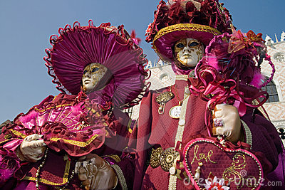 Venice carnival Editorial Image