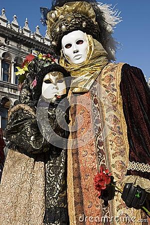 Venice Carnival Couples