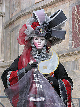 Free Venice Carnival: Mask With Armour Stock Photo - 553700