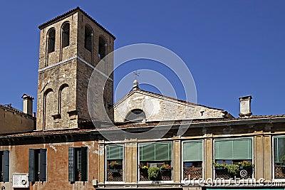 Venice, church in Veneto, Italy